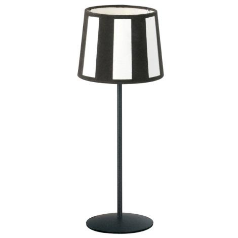 EGLO 84096 - Stolná lampa PUEBLO 1xE14/60W antická hnedá