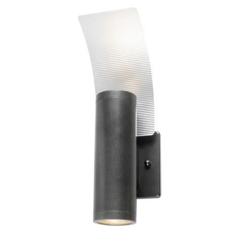 EGLO 85748 - Vonkajšie nástenné svietidlo RIGA 2 2xGU10/50W