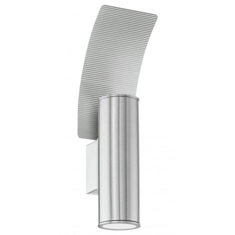 EGLO 85749 - Vonkajšie nástenné svietidlo RIGA 2 2xGU10/50W