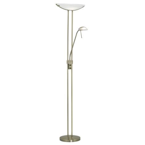 EGLO 85974 - Stmívatelná stojací lampa BAYA 1xR7s/230W + 1xG9/33W