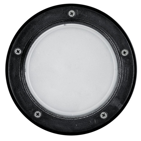EGLO 86188 - vonkajšia bodové svietidlo RIGA 3 1xE27/15W čierna