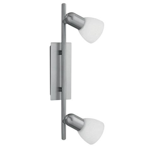 EGLO 86214 - bodové svietidlo ARES 1 2xE14/40W biela