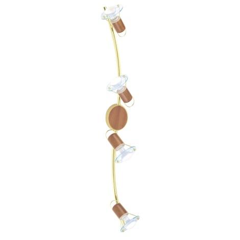 EGLO 86279 - bodové svietidlo TORONTO 1 4xE14/40W