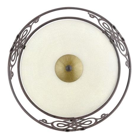 EGLO 86711 - Nástenné stropné svietidlo MESTRE 1 x E27/60W antická hnedá / zlatá