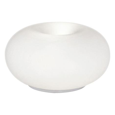 EGLO 86818 - stolné svietidlo OPTICA 2xE27/60W biele opálové sklo