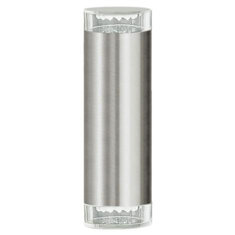 EGLO 87112 - vonkajšie nástenné svietidlo RIGA LED 2xGU10/LED/1,28W