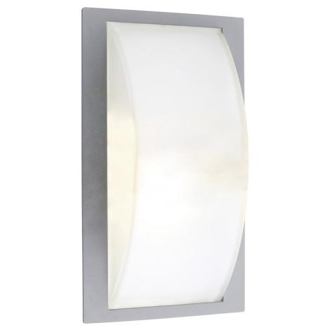 EGLO 87182 - vonkajšie nástenné svietidlo park 5 stříbrná