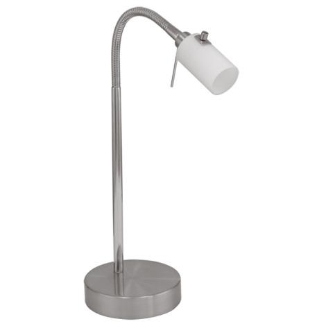 Eglo 87245 - Stmievateľná stolná lampa BENGA 1xG9/33W/230V