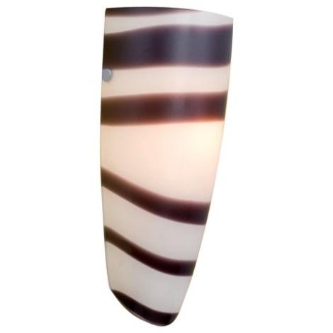 EGLO 87275 - nástenné svietidlo NARO 1xE27/60W čierna / biela