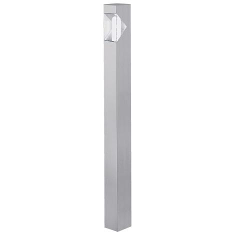 EGLO 87288 - vonkajšia lampa SAO PAULO 1xE27/15W stříbrná