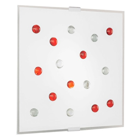 EGLO 87307 - Stropné nástenné svietidlo SANTIAGO 1 2xE14/40W