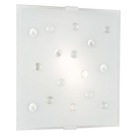 Eglo 87312 - Nástenné stropné svietidlo SANTIAGO 1 2xE14/40W/230V bílá