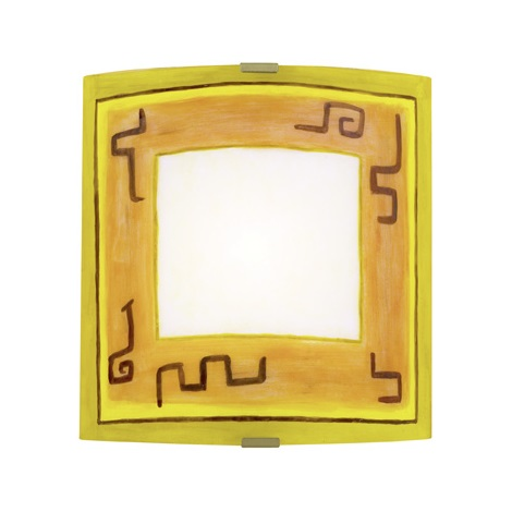 EGLO 87318 - Nástenné / stropné svietidlo ARTA 1 1xE27/60W