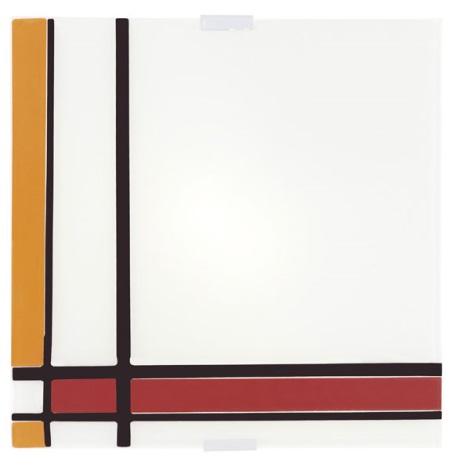 EGLO 87506 - stropné svietidlo PIET 4xE14/40W červená/oranžová