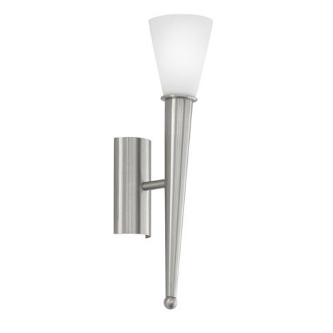 EGLO 87535 - nástenné svietidlo MARA 1xE14/60W biele opálové sklo