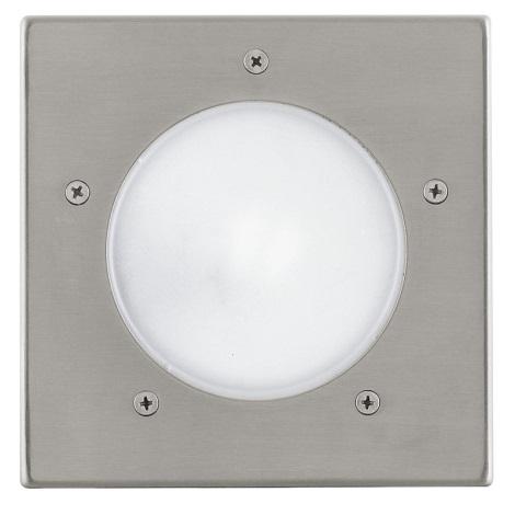 EGLO 88063 - vonkajšia zemný svietidlo RIGA 3 1xE27/15W
