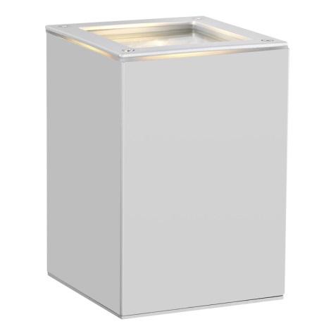 EGLO 88099 - vonkajšie nástenné svietidlo TABO 1 stříbrná