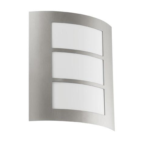 EGLO 88139 - Vonkajšie nástenné svietidlo CITY 1xE27/15W