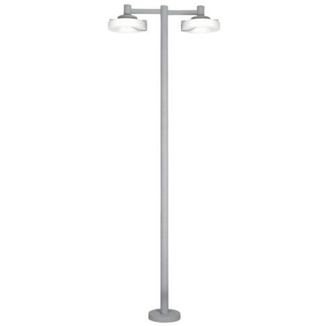 EGLO 88158 - vonkajšia lampa ROI 2x2Gx13/22W stříbrná / biela