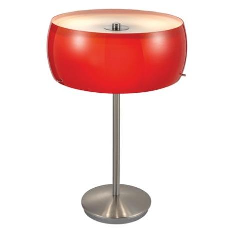 EGLO 88187 - stolné svietidlo CAMARO 3xE14/40W červená