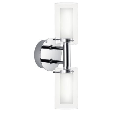 EGLO 88194 - Kúpeľňové nástenné svietidlo PALERMO 1xG9/33W