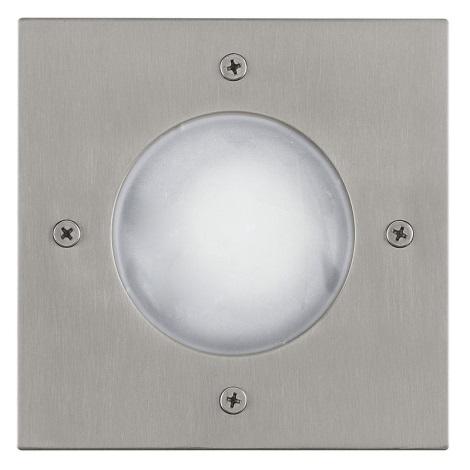 EGLO 88448 - vonkajšia zemný svietidlo RIGA 3 1xGU10/LED/1W biela