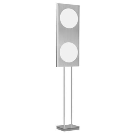 EGLO 88486 - Stojanová lampa ANAIS 2x2GX13/40W hliník/biela