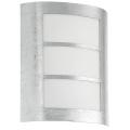 EGLO 88487 - Vonkajšie nástenné svietidlo CITY 1xE27/60W/230V