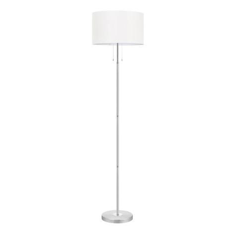 EGLO 88566 - Stojanová lampa HALVA 3xE27/60W biela