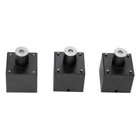 EGLO 88568 - SADA 3x LED Vonkajšie nájazdové svietidlo PARK 6 3xLED/0,18W