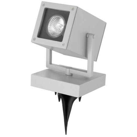 EGLO 88574 - vonkajšia bodová lampa TABO 1 1xGU10/50W stříbrná