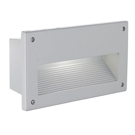 EGLO 88575 - vonkajšie svietidlo ZIMBA 1xE14/60W stříbrná
