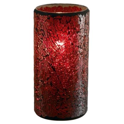EGLO 88699 - stolné svietidlo CROCO 1xE27/60W červená