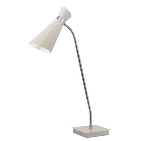 EGLO 88817 - stolné svietidlo FIDO 1xE27/60W krémovo biela