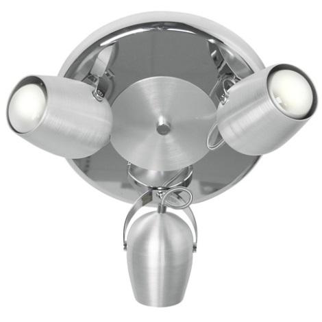EGLO 88906 - bodové svietidlo AGO 3xE27/60W
