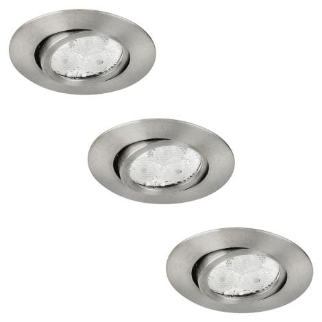 EGLO 88943 - SADA 3x LED Downlight ARON 3xGU10/3W LED