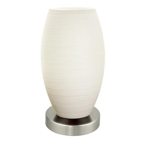 EGLO 88957 - stolné svietidlo BATISTA 1 1xE27/11W biela / matná