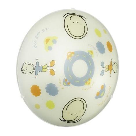 EGLO 88972 - detské stropné svietidlo junior 2 2xE27/60W farebné