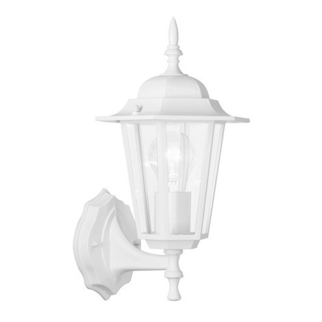 EGLO 8914 - vonkajšie nástenné svietidlo LATERNA 5 biela