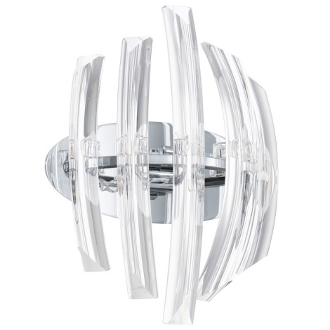 EGLO 89206 - nástenné svietidlo DRIFTER 2xG9/40W krištáľ