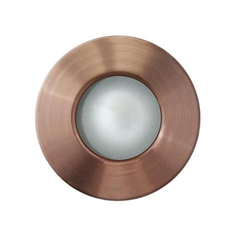 EGLO 89288 - vonkajšia bodové svietidlo margo 1xGU10/50W meď