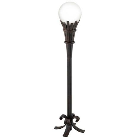 EGLO 89297 - lampa vonkajšia TORRE 1xE27/100W antická hnedá