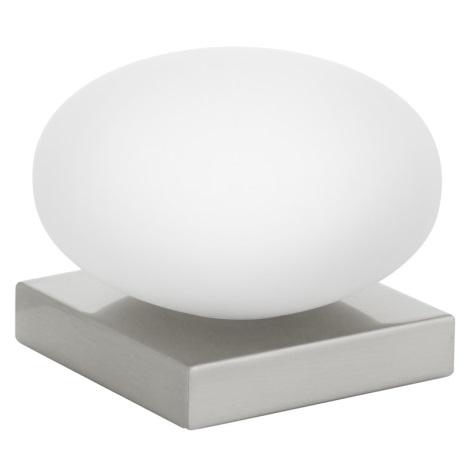 EGLO 89322 - stolné svietidlo ETOO 1xE14/40W biele opálové sklo