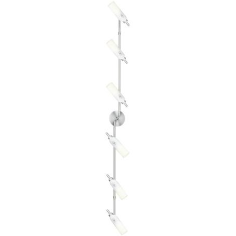 EGLO 89386 - Bodové svietidlo GARDA 6xE14/9W