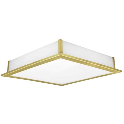 EGLO 89455 - Nástenné stropné svietidlo AURIGA 1x2GX13/55W mosadz / biela