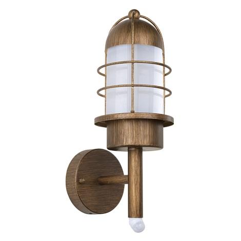 EGLO 89534 - vonkajšie svietidlo MINORCA sa senzorem 1xE27/60W
