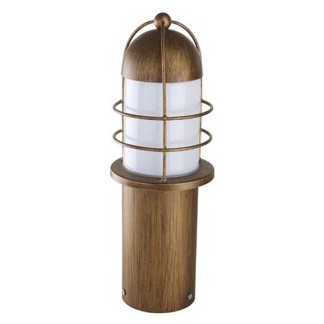 EGLO 89535 - vonkajšia lampa MINORCA 1xE27/60W meď