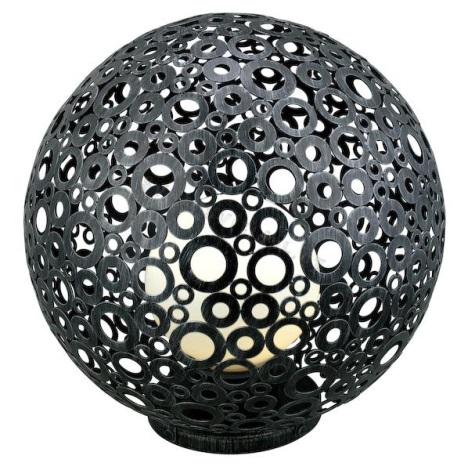 EGLO 89565 - vonkajšia lampa FERROTERRA stříbrnočerná patina