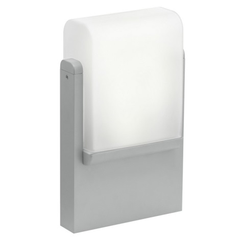 EGLO 89578 - vonkajšia lampa CARACAS 1xE27/22W stříbrná