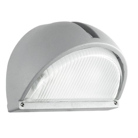 EGLO 89769 - vonkajšie nástenné svietidlo ONJA 1xE27/60W stříbrná